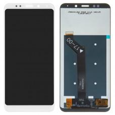 Дисплейный модуль Xiaomi Redmi 5 Plus (White)