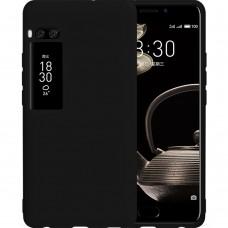 Силикон iNavi Color Meizu Pro 7 Plus (Черный)