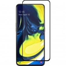 Стекло 5D Ceramic Samsung Galaxy A80 / A90 (2019) Black