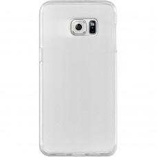 Силикон QU Case Samsung S6 Edge Plus (Прозрачный)
