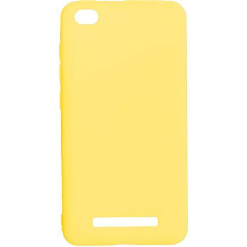 Силикон iNavi Color Xiaomi Redmi 4a (желтый)