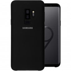 Силикон Original Case (HQ) Samsung Galaxy S9 Plus (Чёрный)