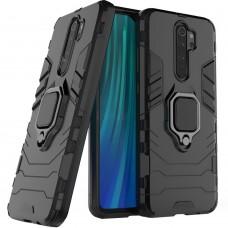 Бронь-чехол Ring Armor Case Xiaomi Redmi Note 8 Pro (Черный)