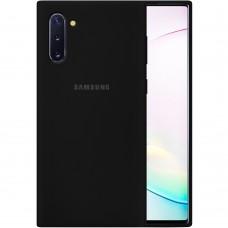 Силикон Original Case Samsung Galaxy Note 10 (Чёрный)