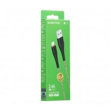USB-кабель Borofone Powerful BX25 (Lightning)
