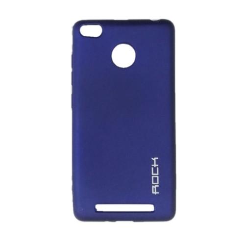 Силикон Rock Matte Xiaomi Redmi 3 / 3s / 3x / 3 Pro (Blue)