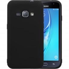 Силиконовый чехол Graphite Samsung Galaxy J1 (2016) J120 (черный)