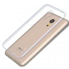 Силиконовый чехол iNavi Color Meizu M3 Mini / Meizu M3s Mini (Прозрачный)