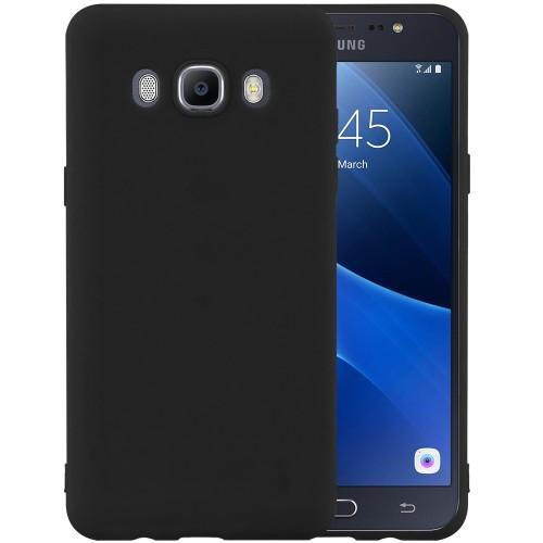 Силикон iNavi Color Samsung Galaxy J7 (2016) J710 (черный)