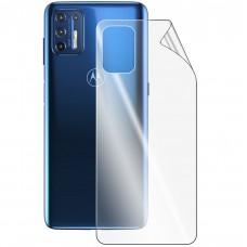 Защитная плёнка Hydrogel HD Motorola G9 Plus (задняя)