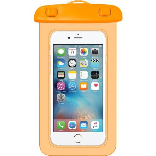 Водонепроницаемый карман WaterProof Aquabag Case (Оранжевый)
