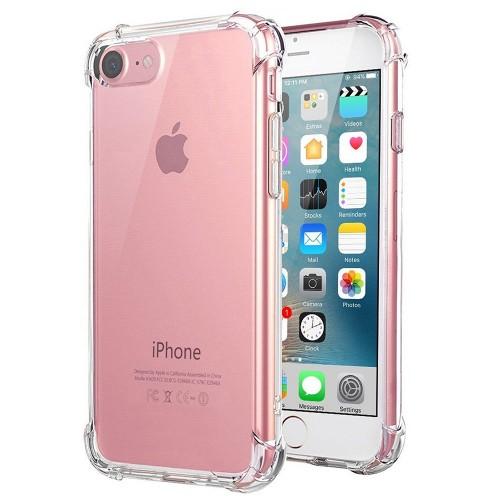Силиконовый чехол 6D Apple iPhone 7 / 8 (Прозрачный)