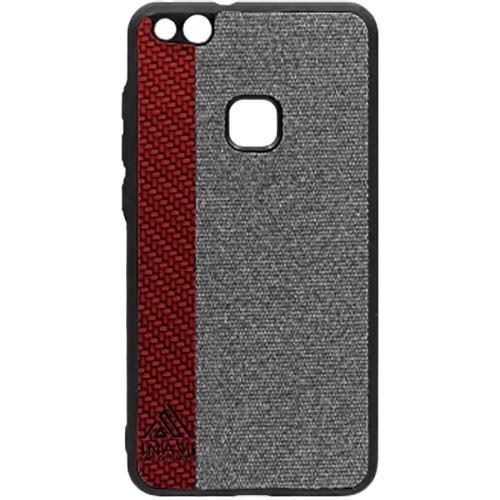 Силиконовый чехол Inavi Huawei P10 Lite (бордовый)