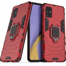 Бронь-чехол Ring Armor Case Samsung Galaxy A51 (2020) (Красный)