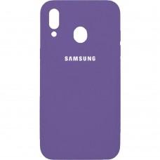 Силикон Original Case Samsung Galaxy M20 (Фиолетовый)
