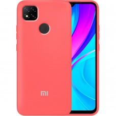 Силикон Original Case Xiaomi Redmi 9C (Коралловый)