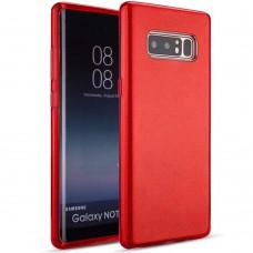 Силикон Glitter Samsung Galaxy Note 8 (N950) (Красный)