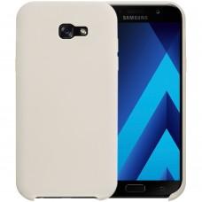 Силиконовый чехол Original Case Samsung Galaxy A7 (2017) A720 (Серый)