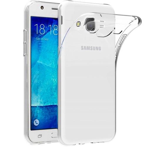 Силиконовый чехол WS Samsung Galaxy J7 (2015) J700 J705 Neo (прозрачный)