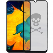 5D Стекло Picture Samsung Galaxy A20 / A30 / A50 (2019) Black (Skull)
