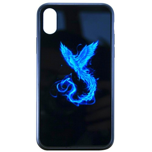 Накладка Luminous Glass Case Apple iPhone XR (Phoenix)