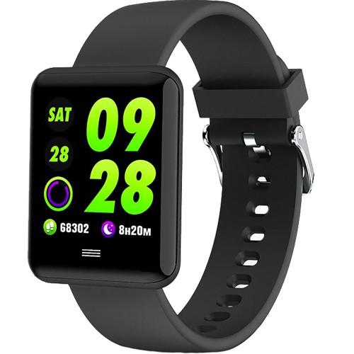 Смарт-часы SmartWatch MX11 (Чёрный)