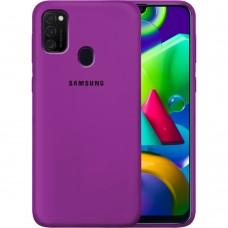 Силикон Original Case Samsung Galaxy M21 (2020) (Сиреневый)