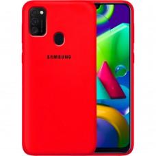 Силикон Original Case Samsung Galaxy M21 (2020) (Красный)