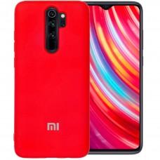 Силикон Original Case Xiaomi Redmi Note 8 Pro (Красный)