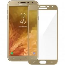 Стекло Samsung Galaxy J4 (2018) J400 Gold