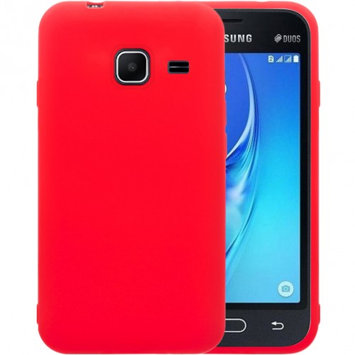 Силикон iNavi Color Samsung Galaxy J1 Mini J105 (Красный)
