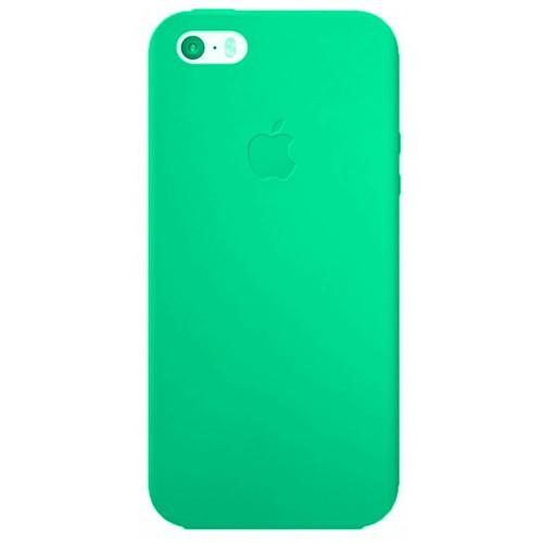 Силиконовый чехол Super Slim iPhone 5 (бирюза)