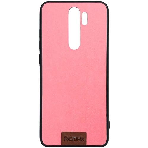 Силикон Remax Tissue Xiaomi Redmi Note 8 Pro (Розовый)