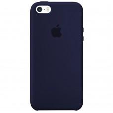 Силикон Original Case Apple iPhone 5 / 5S / SE (09) Midnight Blue