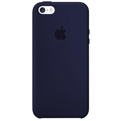 Силиконовый чехол Original Case Apple iPhone 5 / 5S / SE (09) Midnight Blue