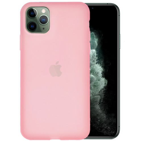 Силикон TPU Latex Apple iPhone 11 Pro Max (Розовый)
