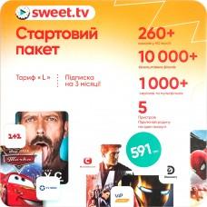 Стартовый пакет SWEET.TV Тариф L
