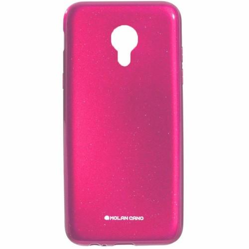Силиконовый чехол Molan Shining Meizu M5s Розовый