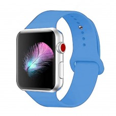 Ремешок Apple Watch Silicone 42 / 44mm (37) Azure