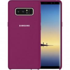 Силикон Original Case Samsung Galaxy Note 8 N950 (Фиолетовый)