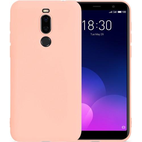 Силиконовый чехол SMTT Meizu M6T (Розовый)