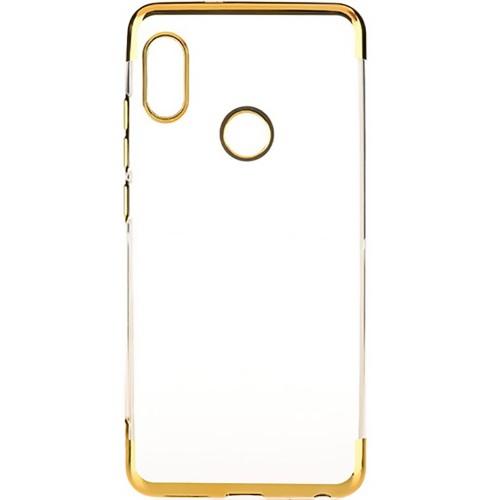 Силиконовый чехол UMKU Line Xiaomi Redmi Note 5 / Note 5 Pro (Золотой)