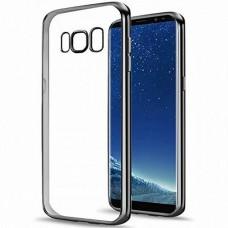 Силиконовый чехол UMKU Line Samsung Galaxy S10 (чёрный)