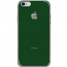 Силикон Zefir Case Apple iPhone 6 / 6s (Темно-зелёный)