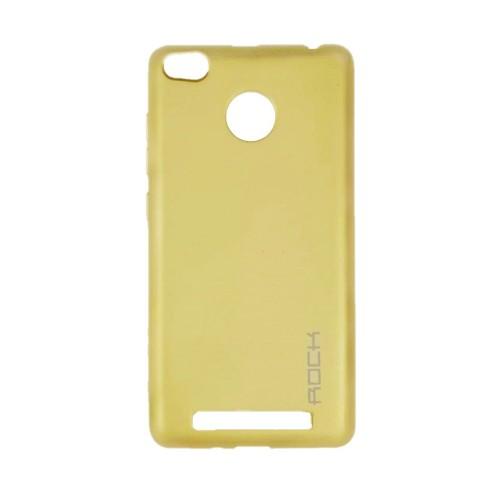 Силикон Rock Matte Xiaomi Redmi 3 / 3s / 3x / 3 Pro (Gold)