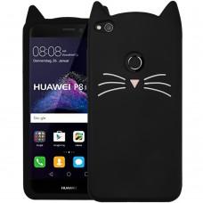 Силикон Kitty Case Huawei P8 Lite (2017) (Черный)