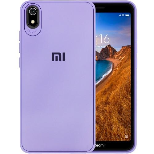 Силиконовый чехол Junket Case Xiaomi Redmi 7A (Фиолетовый)