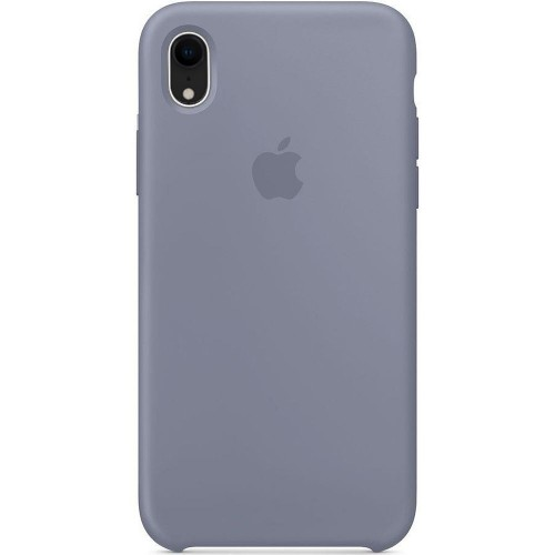 Чехол Silicone Case Apple iPhone XR (Lavender Gray)