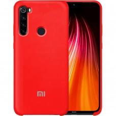 Силикон Original Case Xiaomi Redmi Note 8T (Красный) (уценка) 1 категория