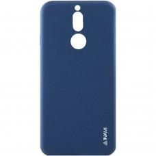 Силикон iNavi Color Huawei Mate 10 Lite (темно-синий)
